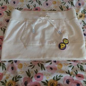 Victoria Secret PINK sweatshirt mini skirt sz S